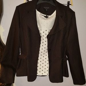 Suit jacket and shirt